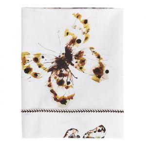 Ledikantlaken Fika Butterfly offwhite Mies & Co