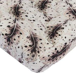 Hoeslaken ledikant Soft Feather offwhite Mies & Co