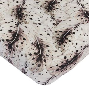 Hoeslaken wieg Soft Feather offwhite Mies & Co