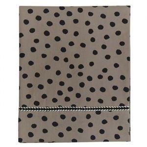 Wieglaken Bold Dots dark brown Mies & Co