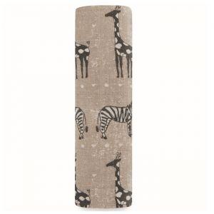 Bamboe hydrofiele doek XL Sahara Motif Aden + Anais