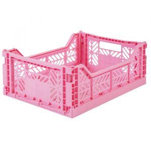 Opvouwbaar Kratje Midi Baby Pink Ay-Kasa
