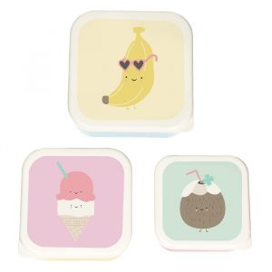 Lunchbox set Banana (3st) Eef Lillemor