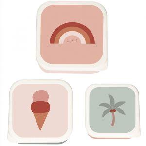 Lunchbox set Tropics (3st) Eef Lillemor