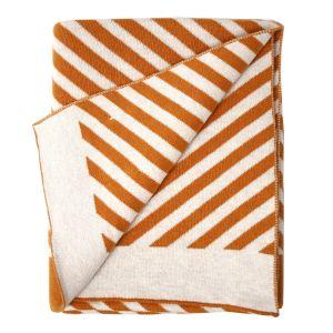 Babydeken Stripes okergeel/bruin Eef Lillemor