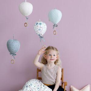 Muziekmobiel luchtballon blossom pink CamCam