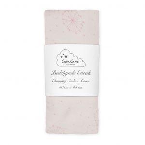 Aankleedkussenhoes Dandelion roze CamCam