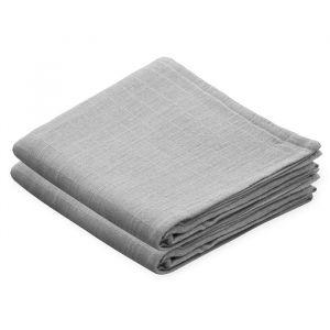 Hydrofiele doeken grijs (2st) CamCam