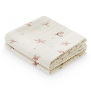 Hydrofiele doeken Windflower cream (2st) CamCam
