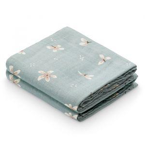 Hydrofiele doeken Windflower blue (2st) CamCam