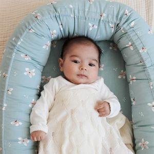Babynest Windflower blue CamCam