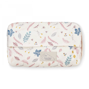 Babydoekjes cover Pressed Leaves roze CamCam