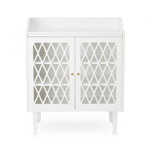 Commode Harlequin wit CamCam