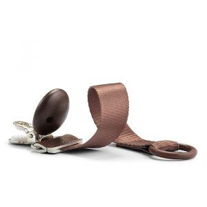 Speenkoord Wood Chocolate Elodie Details