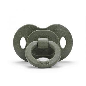 Bamboe fopspeen 3m+ rubber rebel green Elodie Details