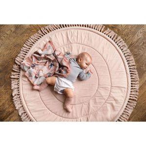 Speelkleed Powder Pink met franjes Elodie Details