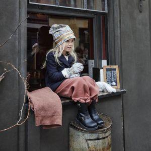 Deken gebreid  wol Faded Rose Elodie Details