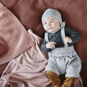 Pearl velvet deken Faded Rose Elodie Details