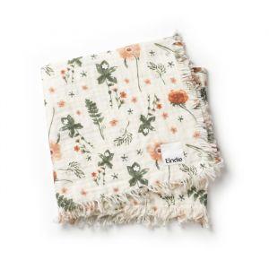 Zachte hydrofiele deken Meadow Blossom Elodie