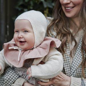 Babymuts Bonnet Vanilla White 0-3m Elodie Details