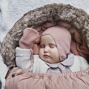 Babymuts Bonnet Faded Rose 3-6m Elodie Details