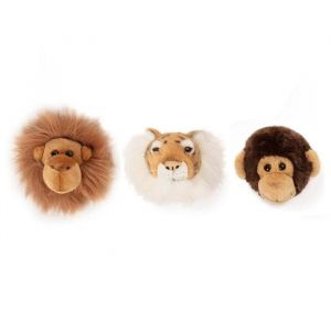 Mini dierenkoppen jungle giftset Wild&Soft