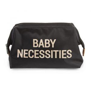 Toilettasje Baby Necessities zwart-goud Childhome