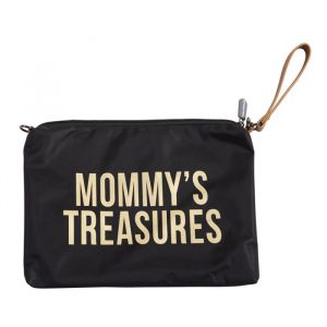Clutch Mommy's Treasures zwart-goud Childhome