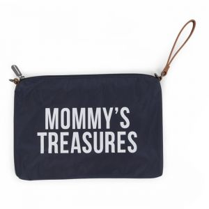 Clutch Mommy's Treasures donkerblauw Childhome