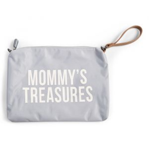 Clutch Mommy's Treasures grijs Childhome