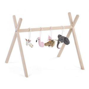 Speeltjes tipi babygym dieren Childhome
