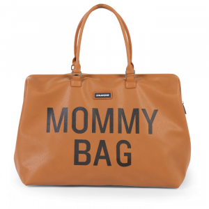 Mommy Bag bruin leatherlook Childhome