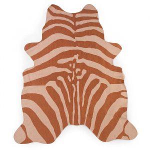 Vloerkleed Zebra nude (145x160cm) Childhome