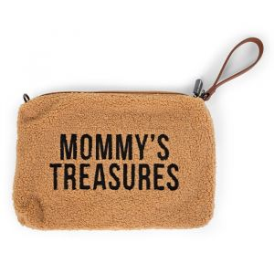Clutch Mommy's Treasures Teddy beige Childhome