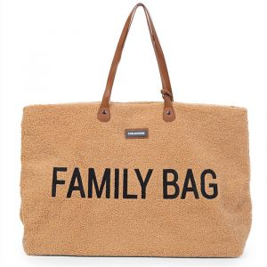 Family Bag Teddy beige Childhome