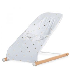 Hoes wipstoel Evolux Gold Dots Childhome