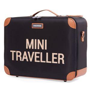Kinderkoffer Mini Traveller zwart-goud Childhome