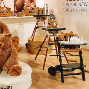 Lambda stoelkussen Teddy beige Childhome