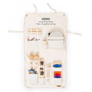 Muziekinstrumenten in organiser (8st) Childhome