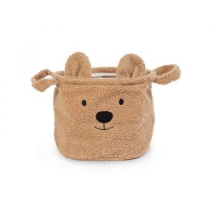 Opbergmand Teddy beige (klein) Childhome