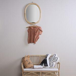 Rotan spiegel ovaal Childhome