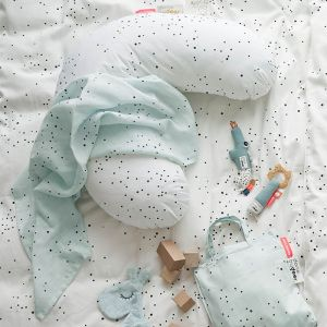 Hydrofiele doeken XL Dreamy Dots blauw (2st) Done by Deer