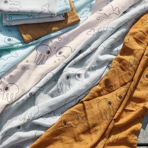 Hydrofiele doeken Sea Friends grijs (2st) Done by Deer