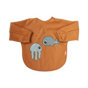 Slab lange mouwen Sea Friends mustard (6-18m) Done by Deer