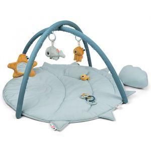 Speelkleed met babygym Sea Friends blue Done by Deer