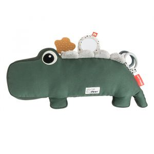 Tummy Time activiteitenknuffel Croco groen Done by Deer