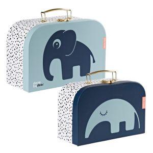 Kofferset blauw Done by Deer