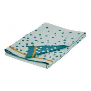 Deken Happy Dots blauw (80x100cm) Done by Deer