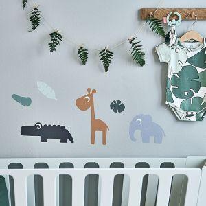 Muurstickers Tiny Tropics Done by Deer