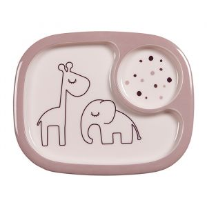 Yummy mini bord met vakken Dreamy Dots powder Done by Deer